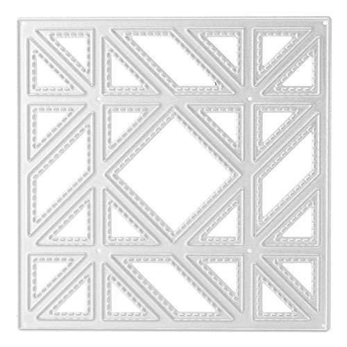 Masun Diagonale Stanzformen aus Metall für Scrapbooking Fotoalbum DIY Dekoration