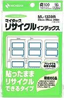 ニチバン マイタック リサイクルインデックス ML-132BR 中 【× 4 パック 】