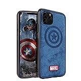 Carcasa para iPhone 12 Pro Max con personaje de los Vengadores, color azul