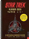 Star Trek Klingon 2020 Calendar: 16-Month Weekly Engagement Calendar