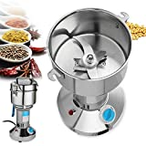 <span class='highlight'><span class='highlight'>DAETNG</span></span> High-Speed Spice Herb Mill Commercial Powder Dry Cereals Herb Grinder 800g, 36000 R/Min, 50-350 Mesh, 3000W, Stainless Steel Safety Upgraded Electric Mill,1000g