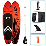 ROHE Pack Stand Up Paddle Gonflable KEAI 10'8, 325x81x15cm - avec pagaie, Pompe de gonflage et Sac de Transport