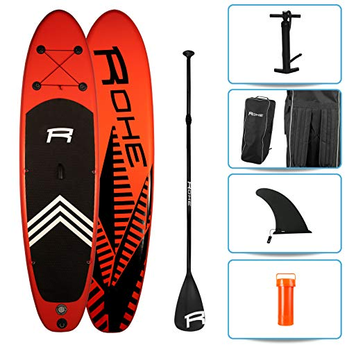 ROHE Pack Stand Up Paddle Gonflable KEAI 10'8, 325x81x15cm - avec...