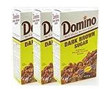 Domino Dark Brown Sugar 1lb Pack of 3