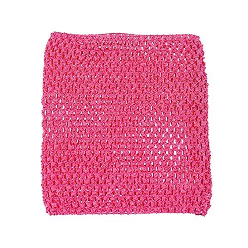 9インチチェストラップワイドかぎ針編みの上 DIY.手作りの子供のスカートアクセサリー (Color : 8, Size : フリー)