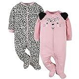 Gerber Baby Girls' 2-Pack Sleep 'N Play,...