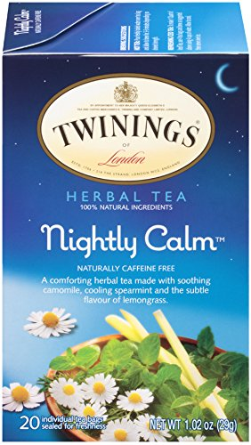 Twinnings of London stress relief Nightly Calm tea blend