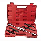 MOSTPLUS Blind Inner Bearing Puller Hole Remover Extractor Kit Slide Hammer -5 Pieces