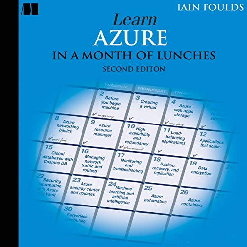 Learn Azure in a Month of Lunches, Second Edition cover art