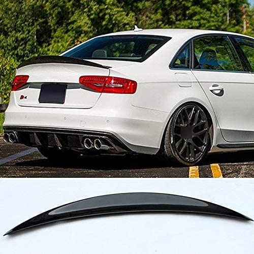IVNGRI S4 HK Style Carbon Fiber Baltimore Mall S Wing for Audi Rear Spoiler Spring new work one after another