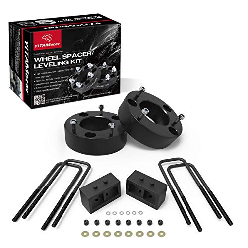 YITAMOTOR Leveling Lift Kit Compatible for F150, 3 inch Front and 2 inch Rear Forged Strut Spacers Compatible for 2004-2018 Ford F-150 2WD 4WD