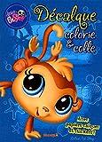 Décalque, Colorie & colle (Littlest PetShop)