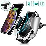 Oasser Chargeur Sans Fil de Voiture 10 W Chargeur à Induction de Voiture pouriPhone 11/Pro/Pro...