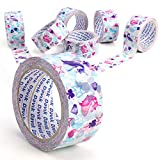 6-Pack Printed Packaging Tapes (6pack-Unicorn)