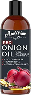 AroMine Pure & Natural Red Onion Hair Oil (60ml)