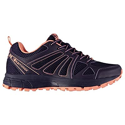 Karrimor Womens Caracal Trail Running Shoes Purple/Coral UK 7 (41)