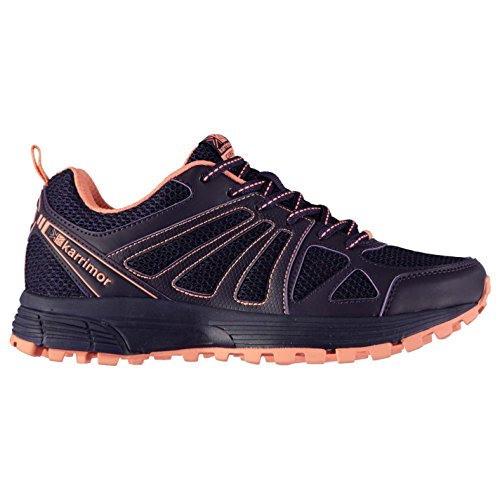 Karrimor Womens Caracal Trail Running Shoes Purple/Coral UK 6 (39)