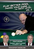Play Better Pool: Taking Your Game to the Next Level DVD featuring Randy Goettlicher