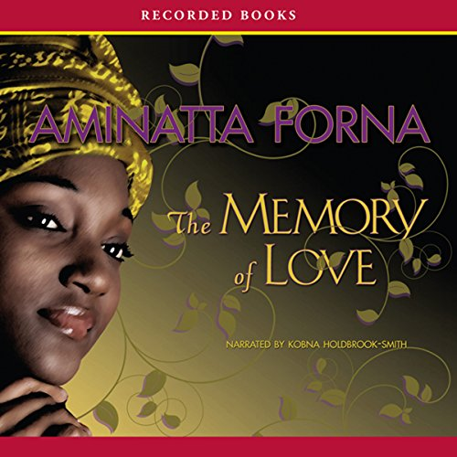 The Memory of Love audiobook cover art