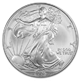 American Silver Eagle $1 Legal US Tender .999 Fine Silver Comes in soft plastic protective flip case Dated 2006