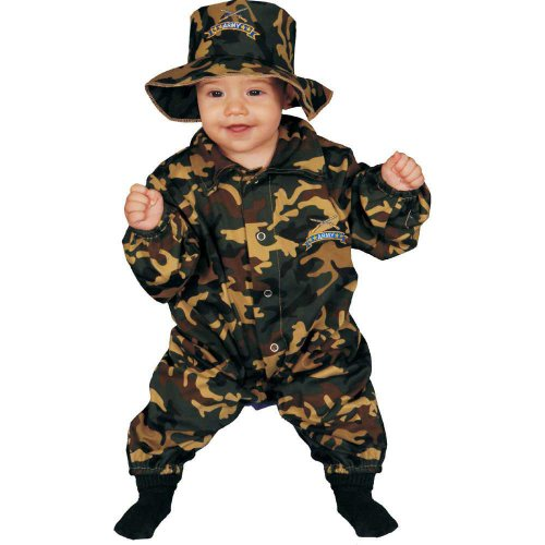 Dress Up America Costume da ufficiale militare bambino carino