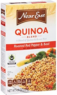 Near East Quinoa and Brown Rice Blend, Roasted Red Pepper/Basil, 4.9 oz