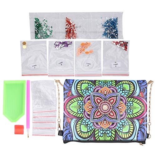 Bolso de pintura DIY, diseño estético profesional suave, bolso de pintura DIY, cómodo bolso de pintura 5D para tienda de cosméticos