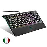 Tastiera Meccanica Gaming Tronsmart TK09R Switches Blu [ Italiano layout] 105 Tasti Anti-Ghosting...