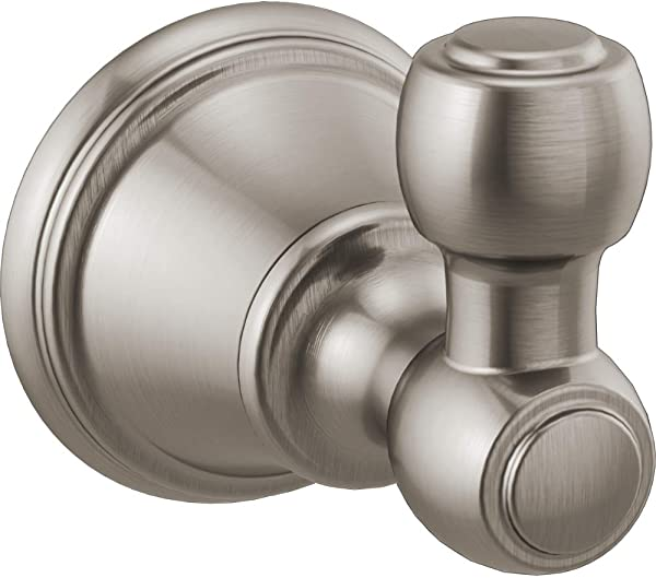 Delta Faucet 73235 SS Woodhurst Robe Hook Brilliance Stainless Steel