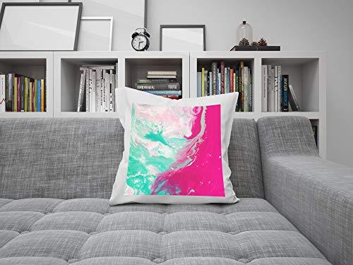 Detalles Creativos Cojines 45x45 cm,Cojines Personalizados con Foto y Texto Personaliza tú cojín con la Imagen y el Texto Que más te guste. Incluye Relleno, 100% Polyester • 45x45 cm • Color Blanco