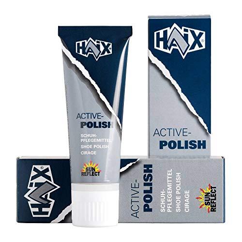 Haix Schuhpflegemittel, 75ml schwarz Die ideale Pflege für Glattleder-Schuhe mit Membrane.