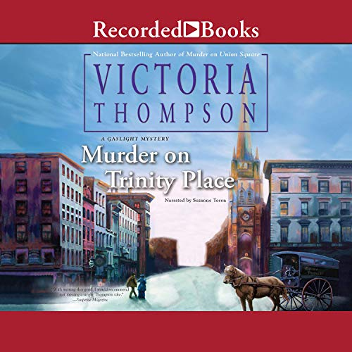 Murder on Trinity Place cover art