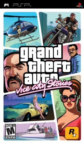 GTA Vice City Stories Gaming CD (PSP) by Take 2