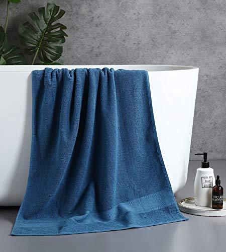 GO-AHEAD Toallas de baño Toallas Suaves algodón algodón Hotel Toallas de baño para Uso doméstico Traje de Dos Piezas no Absorbente y no Restringido (Color : 2 Piece Set)