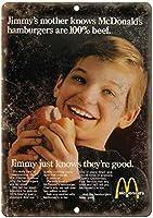 Hamburger Knows N2 メタルポスター壁画ショップ看板ショップ看板表示板金属板ブリキ看板情報防水装飾レストラン日本食料品店カフェ旅行用品誕生日新年クリスマスパーティーギフト