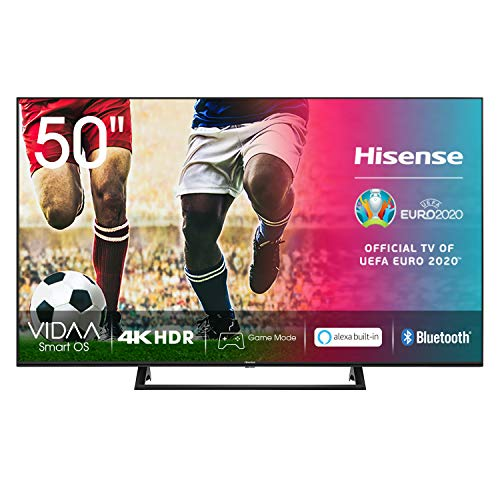Hisense UHD TV 2020 50AE7200F - Smart TV Resolución 4K con Alexa integrada, Precision Colour, escalado UHD con IA, Ultra...