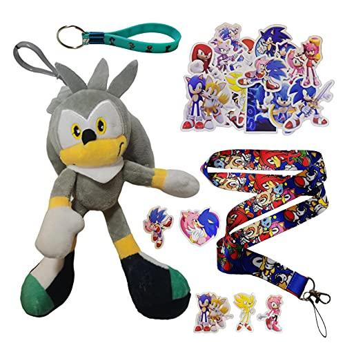 Colgante de Sonic Nuevo ratón supersónico sonic2 super sonic peluche de juguete Tarsnak hedgehog doll regalo para niños