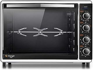 L.TSA Cocina Hogar Uso Horno eléctrico 52L Gran Capacidad 2000W Máquina de cocción multifunción Profesional Máquina de Horno de Pan de Pizza