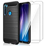 AROYI Cover Xiaomi Redmi Note 8&[2 Pack] Protettiva in Vetro Temperato,Custodia Redmi Note 8...