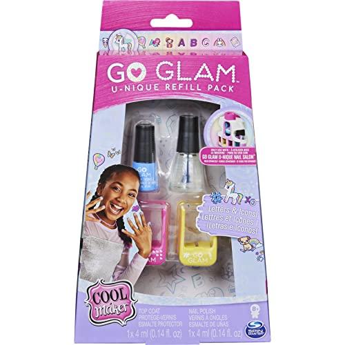 Cool MAKER Nachfüll Set-kompatibel mit dem Nagel Lot de recharges Compatible avec Le Go Glam Unique Nail Salon, 6062239, Non Applicable