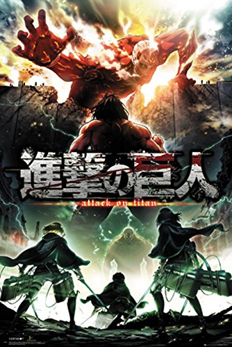 GB eye Ltd Attack on Titan, Season 2 Schlüssel Kunst, Maxi Poster, Verschiedene