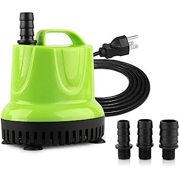 FREESEA 160-1100 GPH Submersible Water Pump for Pond Aquariums Hydroponics Fish Tank Garden Fountain Waterfall