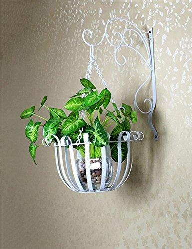 Blumenständer Plante Théâtre European Style Iron Flower Pot Rack sur Un Balcon et Indoor Wall Rack auftragen Idée Cadeau Jardiniers 3