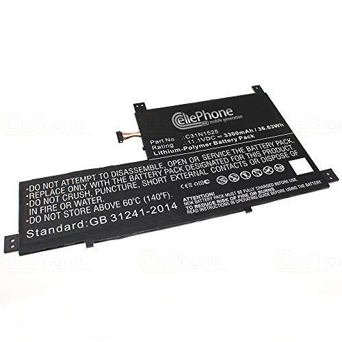 cellePhone Akku Li-Polymer kompatibel zu Asus Transformer Book T302 T302CA - 3300 mAh