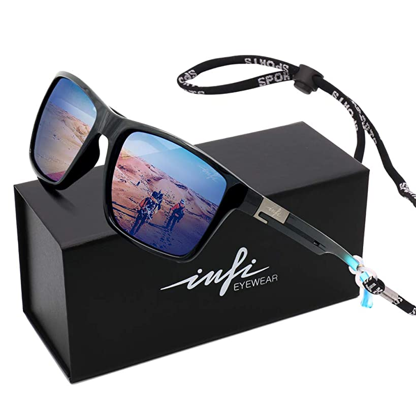 HD Fishing Sunglasses Polarized Wayfarer Driving running Sport Glasses for Women Men UV Protection 2019 Designer