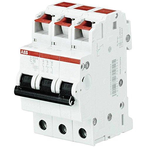 ABB Stotz S&J Sicherungsautomat S203S-B16 B 16A 3p 440V System pro M compact Leitungsschutzschalter 4016779709552