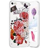 Robinsoni Cover Compatible con per iPhone 6 Plus Cover Silicone iPhone 6S Plus Case Traspa...
