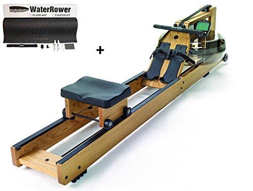 WaterRower Esche Rudergerät + Starterkit