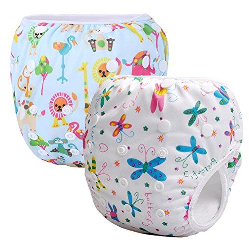 Storeofbaby Couches réutilisables de bain de bébé lavable couverture de tissu nouveau-nés