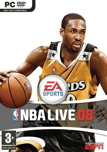 PC-DVD NBA Live 08